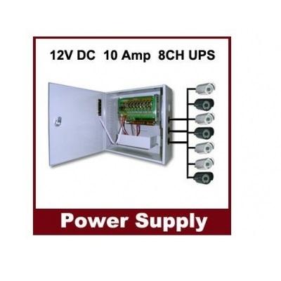 SecTec ST-B1210-8CH Power Supply/UPS box 8ch 12VDC/10A