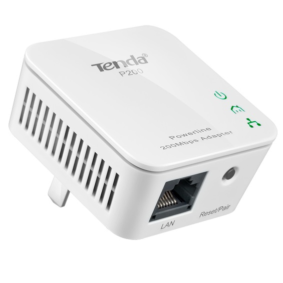 Tenda P200 Powerline Mini Adapter 200M HomePlug AV