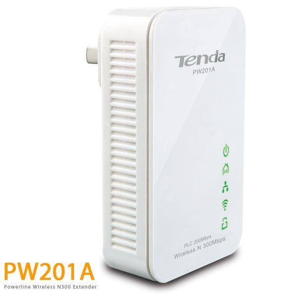 Tenda PW201 Powerline Adapter 200M WiFi 300M