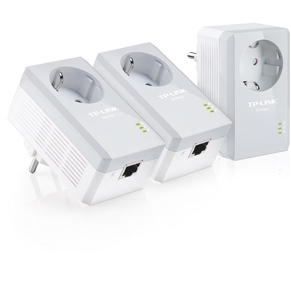 Tp-Link TL-PA4010PTKIT AV500 Powerline Adapter 3 kpl.