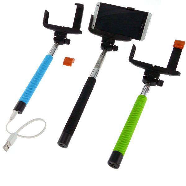 Top High Technology THT-031+ Bluetooth Selfie Stick, musta
