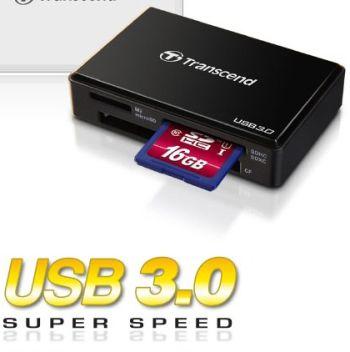 Trancend TS-RDF8K USB 3.0 Multi Kortinlukija