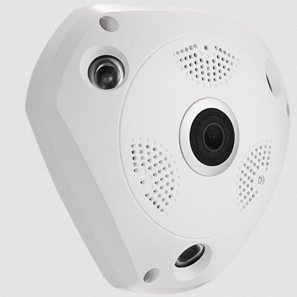 Tseeu TS-F22G sisätilojen 4G-valvontakamera. 5M, Fisheye, Indoor ALK