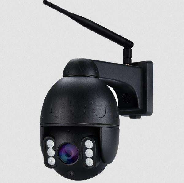 Tseeu TS-SD04G 4G-valvontakamera, 5M PTZ, Outdoor 5x Optical Zoom