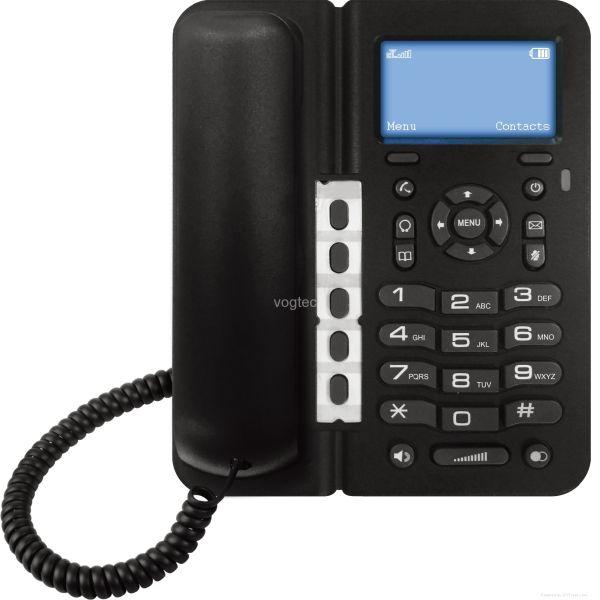 Vogtec D379H 3G/GSM Pöytäpuhelin