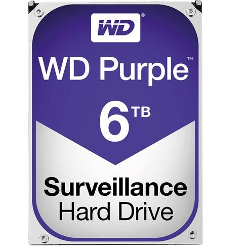 """Western Digital WD60PURZ Purple Surveillance Hard Drive, 6 TB, 3,5"""""""