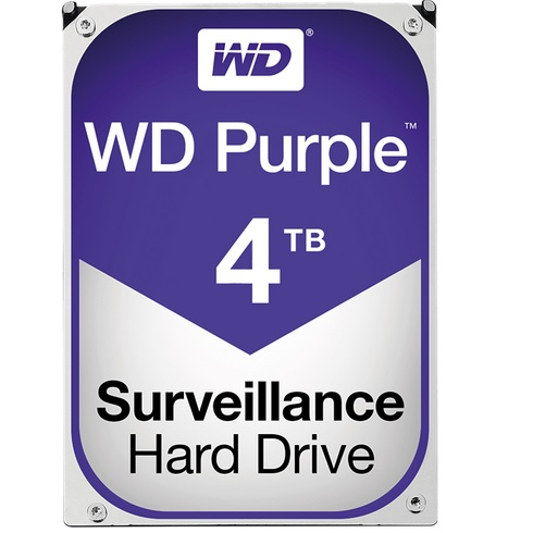 Western Digital WD40PURZ Purple Surveillance Hard Drive, 4 TB, 3,5""