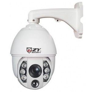 """ZYsecurity ZY-AHGBA75H-AH81 AHD PTZ Outdoor Dome 2M 1/3"""", IP66"""